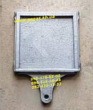 Задвижка чугунная заслонка печная (300х300 мм) печи, барбекю, мангал, фото 2
