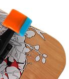Скейт дерев'яний 823 наждак з PU колесами 60 мм Череп | скейтборд трюкової з канадського клена до 80 кг, фото 2