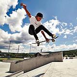 Скейт дерев'яний 823 наждак з PU колесами 60 мм Череп | скейтборд трюкової з канадського клена до 80 кг, фото 7