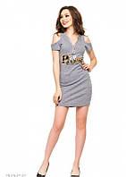 Платья ISSA PLUS 2955 S серый