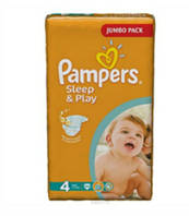 Подгузники Pampers Sleеp&Play 4 (7-14 кг) 50 шт.