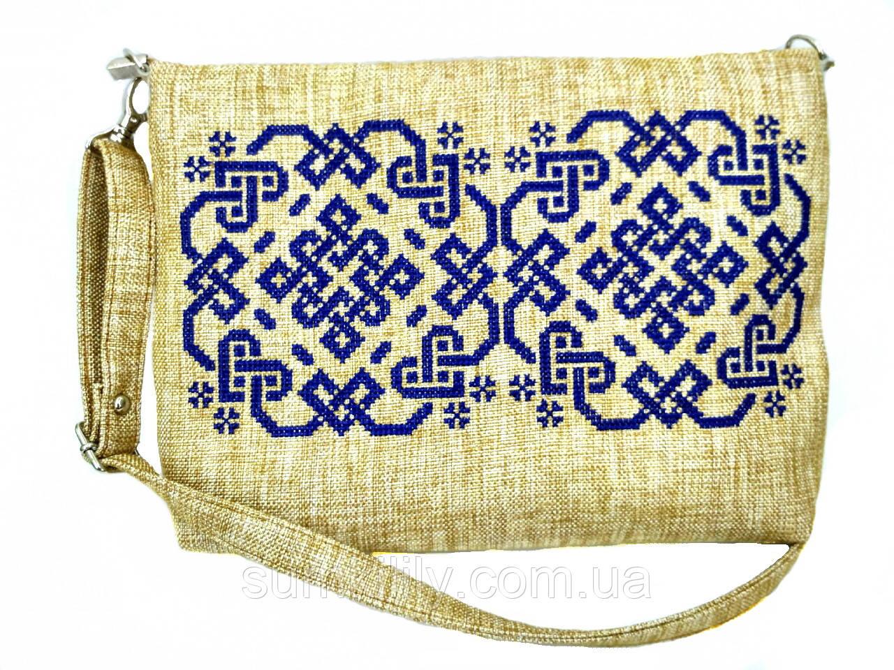 Текстильная сумка с вышивкой Оберег 3