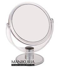 Зеркало на подставке, круглое среднее №1