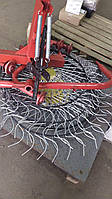 Граблі ворушилки Сонечко на 4 колеса спиця ∅6 мм на трактор Грабарка, гребка, сінограбарка