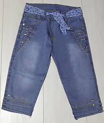Капри джинсовые для  девочки,  LCP (размер 5(110))
