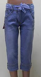 Капри джинсовые для  девочки,  LCP (размер 10(140))