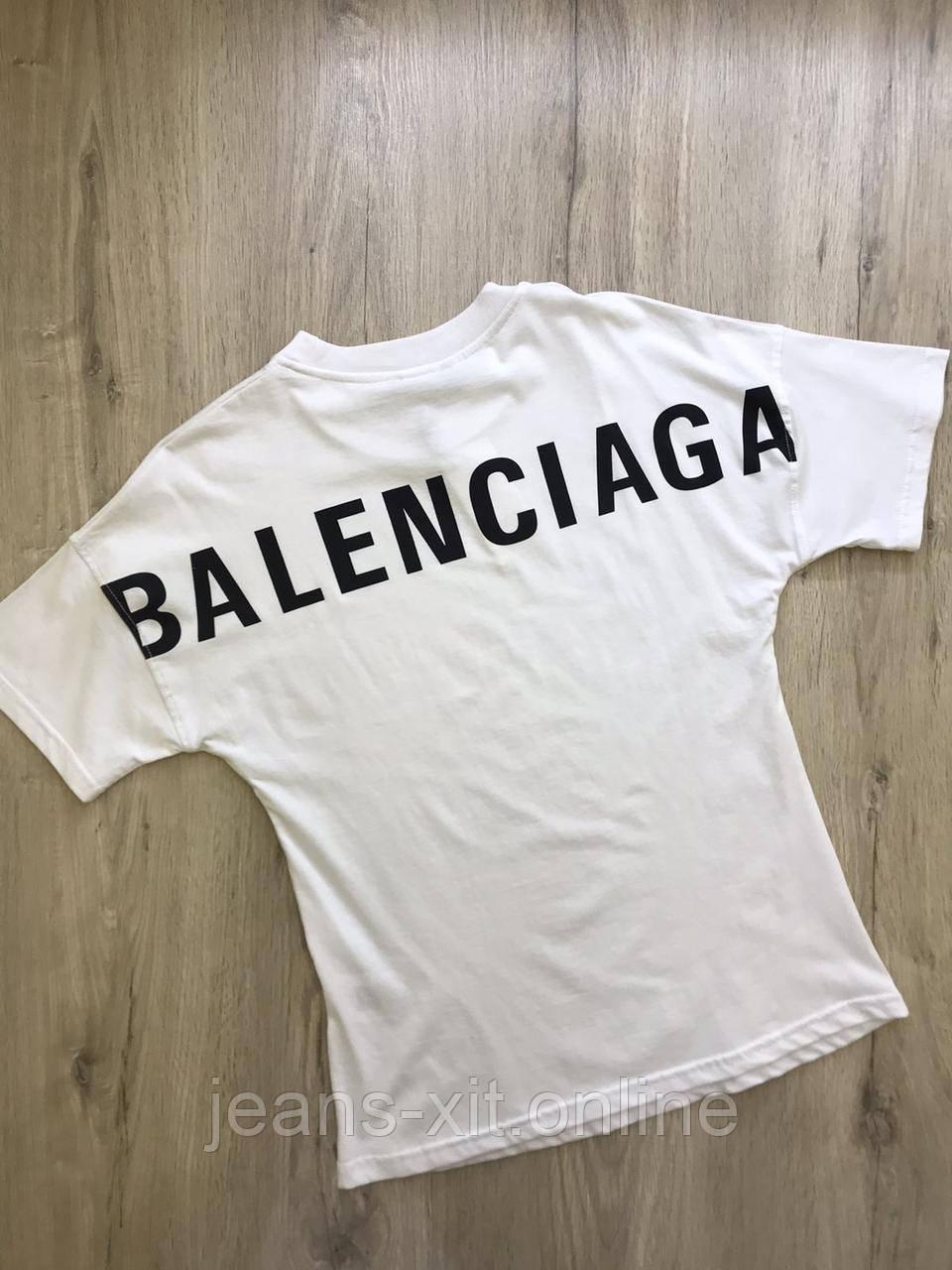 Жін Футболка. L(р) білий 1567-21 Balenciaga Туреччина Літо-D