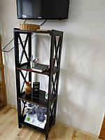Стеллаж Прованс на кухню 150*50*35 см из дерева