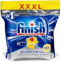Капсули для посудомийних машин Фініш Квантум Макс Лимон Finish Quantum Max Lemon 60 шт