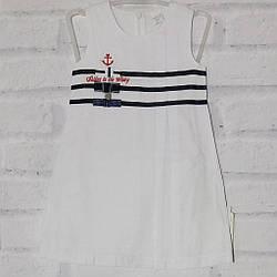 Платье детское для девочки с коротким рукавом, Wizzy (размер 104)
