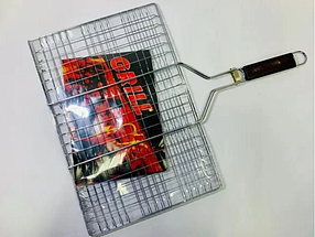 Сетка гриль для мангала 25x25x55cm, фото 2