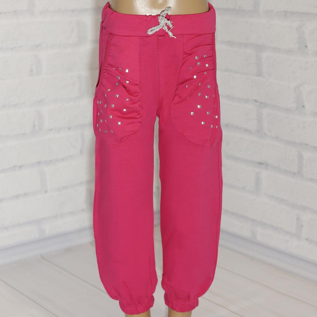 Штаны трикотажные для девочки подрастковые,  Almi (размер 10(140))