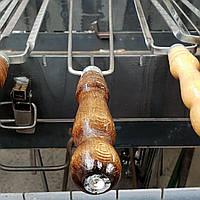 Шампур подвійний тонкий 70 см