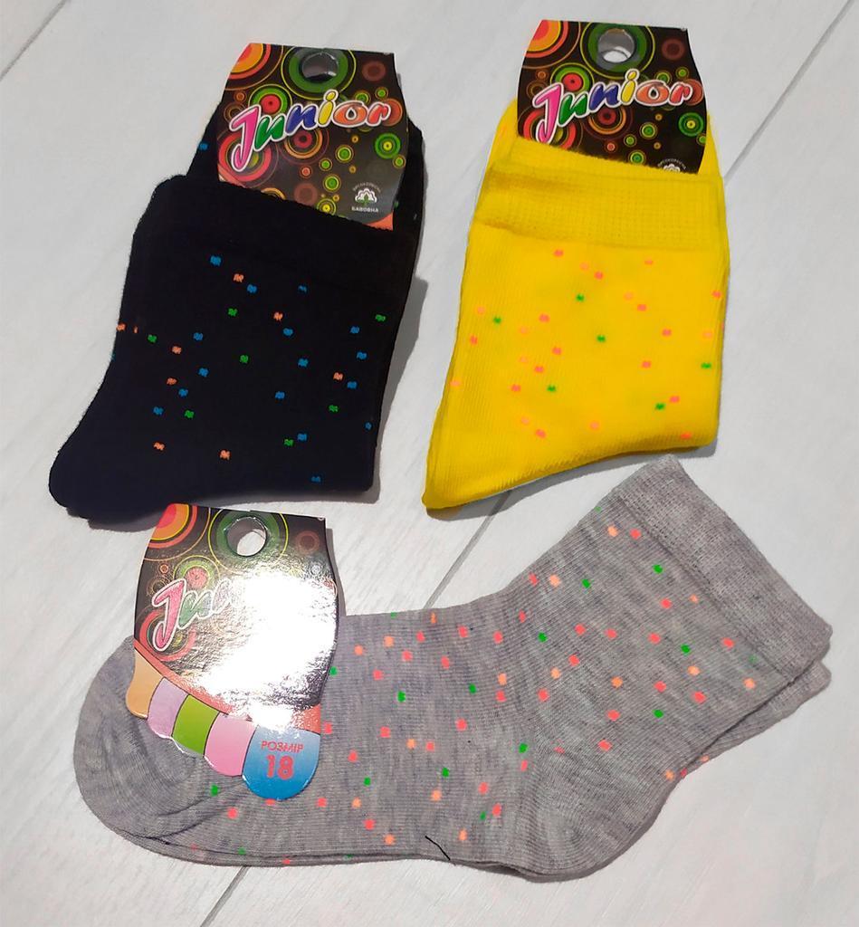 Носки детские демисезонные стрейч, для девочки, Классик (размер 18)