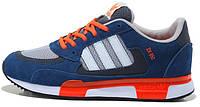 Мужские кроссовки Adidas ZX 850 Blue