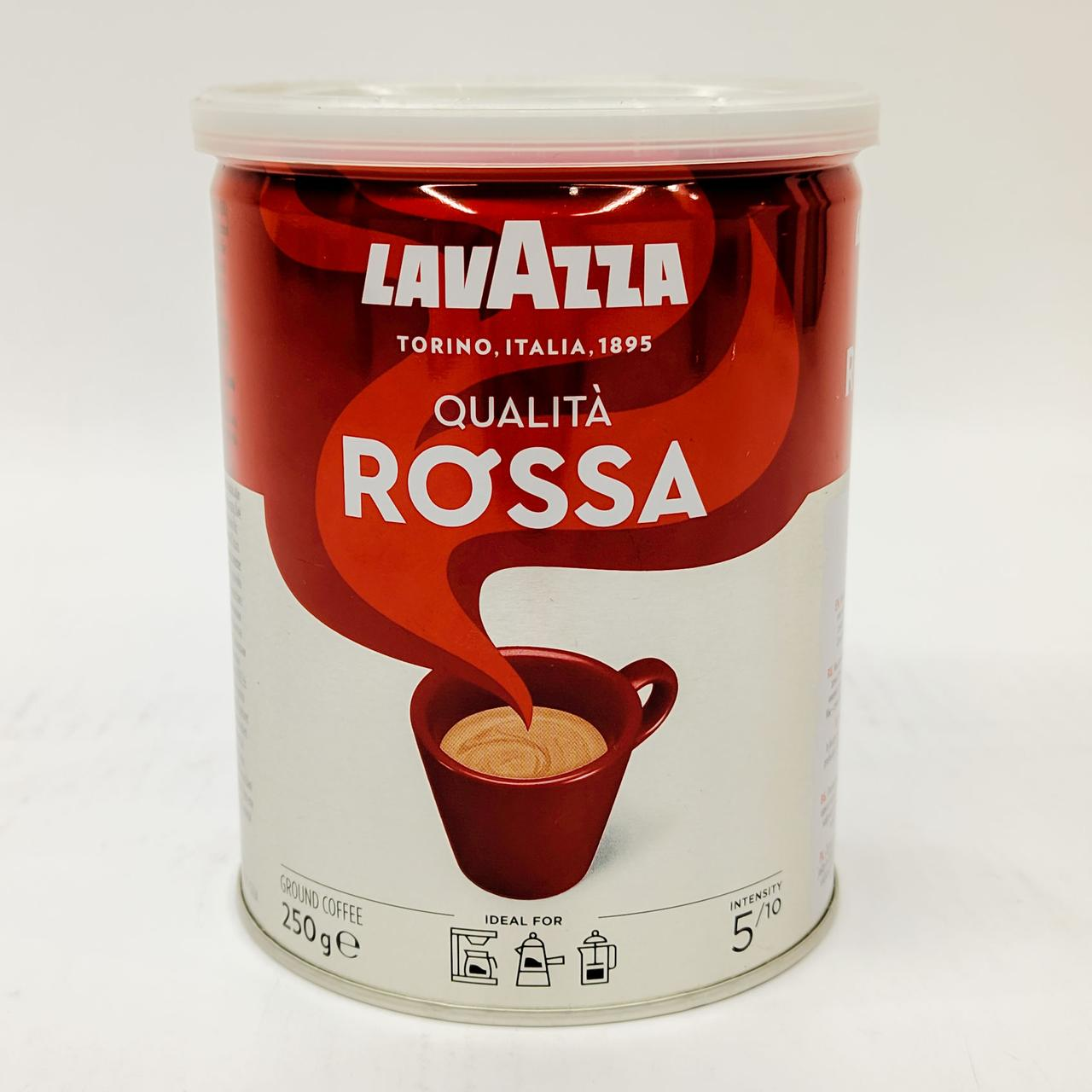 Кофе молотый Lavazza Qualita Rossa steel can