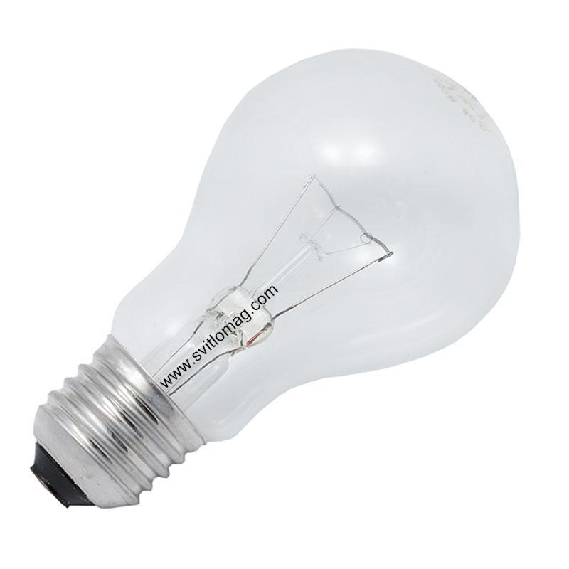 Лампа З 127-60 Е27/27
