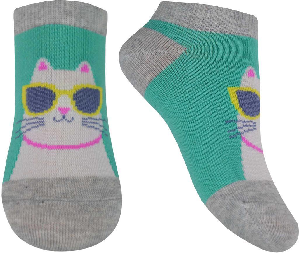 Носки детские демисезонные средние, для девочки, Легка  Хода  (размер 14-16)