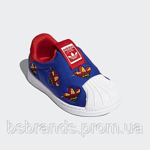 Детские кроссовки-слипоны адидас Superstar 360 FY2512 (2021/1)