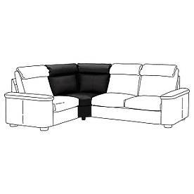 IKEA Секция угловая LIDHULT (ИКЕА ЛИДГУЛЬТ) (604.056.01)