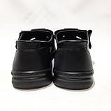 Мужские кожаные туфли р. 46 Walker (Большие размеры) Черные, фото 7