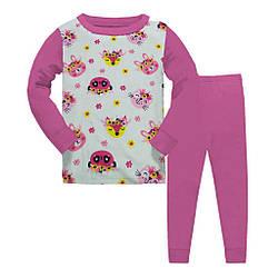Пижама детская,для девочки демисезонная, Звери,  Gupse (размер 4(104))