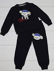 Костюм зимний  для мальчика утепленный (свитшот +штаны), Ernes (размер р.110)