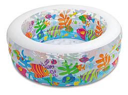 Детский бассейн надувной  Intex 58480 Аквариум