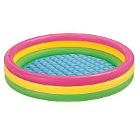 Бассейн детский разноцветный Intex 57422, 147х33 см