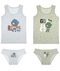 Комплект белья для мальчика  (майка+плавки), Doni (размер 0/0)