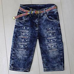Бриджи джинсовые для девочки, Onix  (размер 10(140))