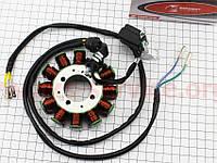 "Статор магнето ZHENGHE (генератора) (12 котушок ""5 проводів""), 200cc"