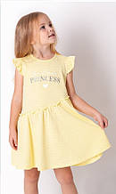 Літнє плаття для дівчинки Mevis жовте р. 98, 104, 110, 116, 122