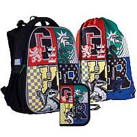 Набор рюкзак + пенал + сумка для обуви Kite 531 HP