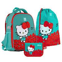Набор рюкзак + пенал + сумка для обуви Kite 555 HK