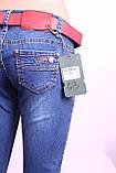 Женские  джинсы c потертостями зауженные к низу, фото 4