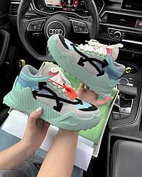 Кроссовки | кеды | обувь Off-White Mint ( Premium )