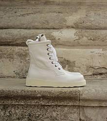 Bottega Veneta White Ботинки | обувь