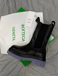 Bottega Veneta Blue/Black Ботинки | обувь