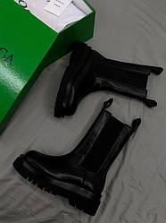 Bottega Veneta Black Ботинки | обувь