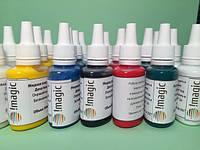 Deco Gel:жидкая пластика,клей для полимерной глины iMagic, полупрозрачный, 30 мл
