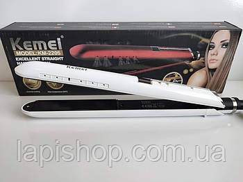 Утюжок с турмалиновым покрытием Kemei KM-2205