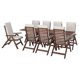 IKEA Комплект мебели садовой ÄPPLARÖ (ИКЕА ЭПЛАРО) (592.687.75)