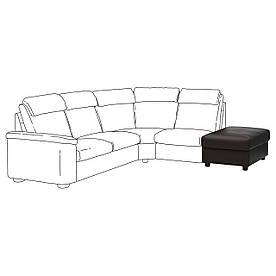 IKEA Пуф з контейнером LIDHULT (ІКЕА ЛИДГУЛЬТ) 80405803