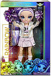 Кукла Рейнбоу Хай Виолетта Виллоу - Rainbow High Cheer Violet Willow 572084 Чирлидер Оригинал, фото 2