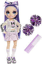 Кукла Рейнбоу Хай Виолетта Виллоу - Rainbow High Cheer Violet Willow 572084 Чирлидер Оригинал