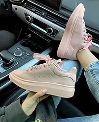 Кроссовки | кеды | обувь McQueen Pink
