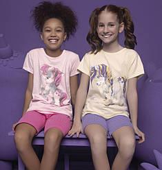 Пижама детская для девочки (футболка короткий рукав+шорты), Donella (размер 2/3)