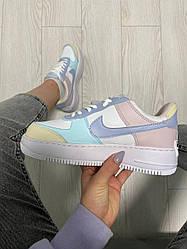Жіночі кросівки Nike Air Force 1 Shadow Yellow Multi