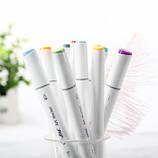 Набор скетч маркеры для рисования 120 штук, США - Ohuhu 120 Colors Dual Tips Alcohol Art Markers Fine & Chisel, фото 3